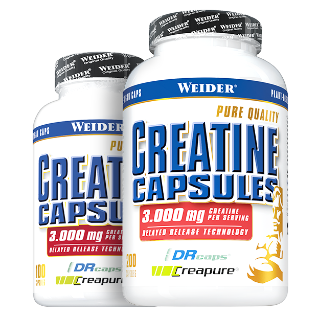 PURE CREATINE CAPS